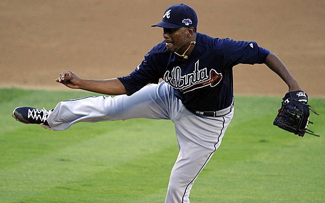 Julio Teheran made a little money Friday.