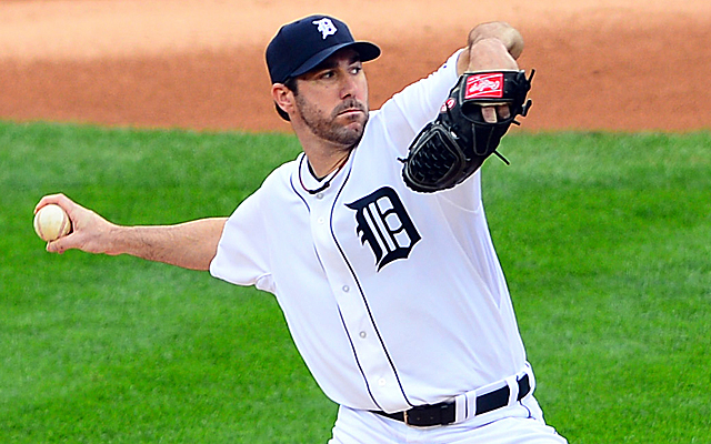 There's a chance Justin Verlander won't be healthy to start the regular season.