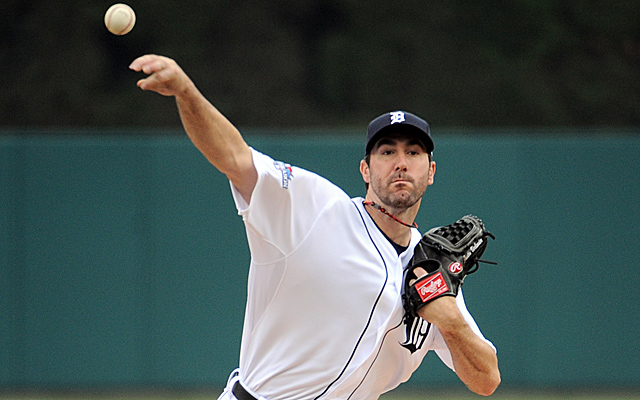 Justin Verlander has been unbelievably stingy this postseason.