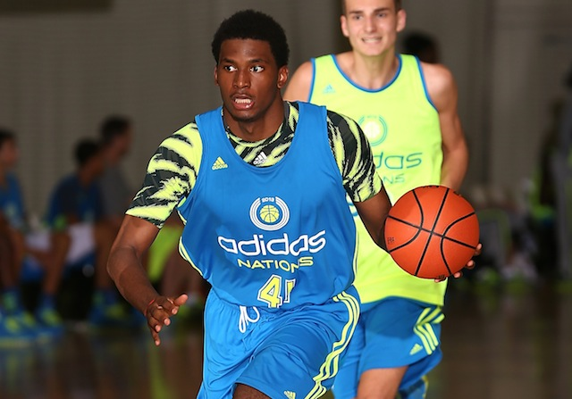 Five-star prospect Justise Winslow heads to Florida this weekend as the Gators look to impress. (Adidas)