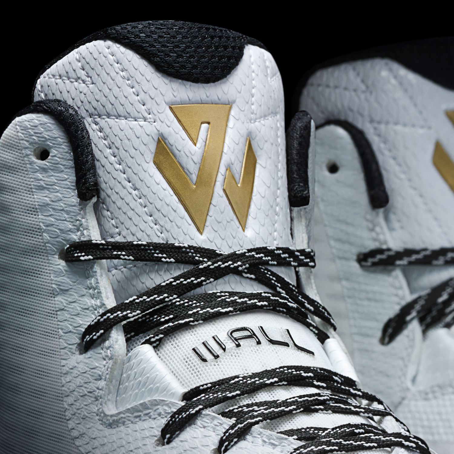 the latest 1c13d 775ba adidas john wall silver gold