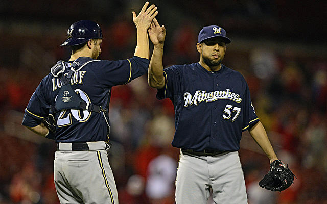 Francisco Rodriguez resembles the closer he was back in his Angels days.