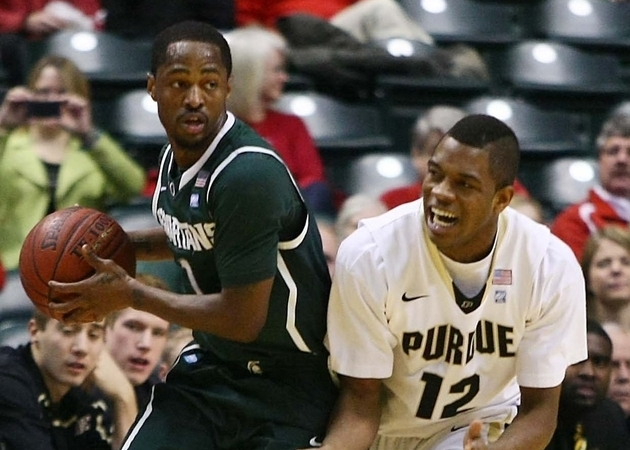 Kalin Lucas scored 30 in an upset of Purdue