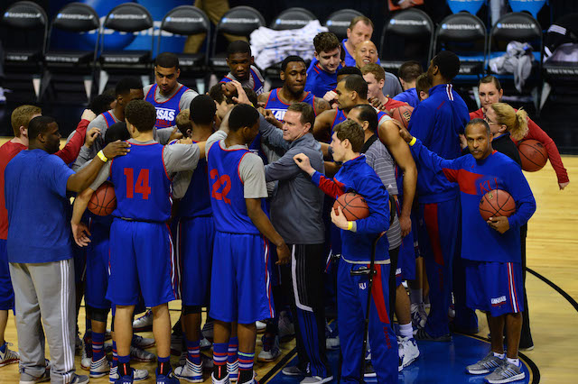 Kansas is looking for its 11th consecutive season with at least a share of the Big 12 title. (USATSI)
