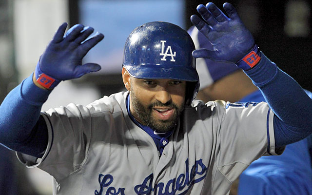 Kemp: 'I've just got to continue to swing at pitches I can drive. That's what I do'.  (USATSI)