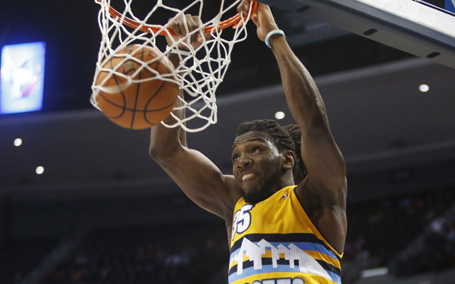 Kenneth Faried made big strides for Denver this season. (USATSI)