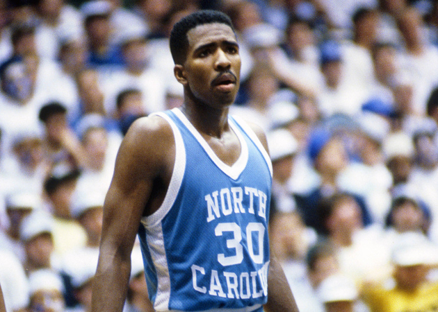 Kenny Smith was an NCAA All-American as a Tar Heel