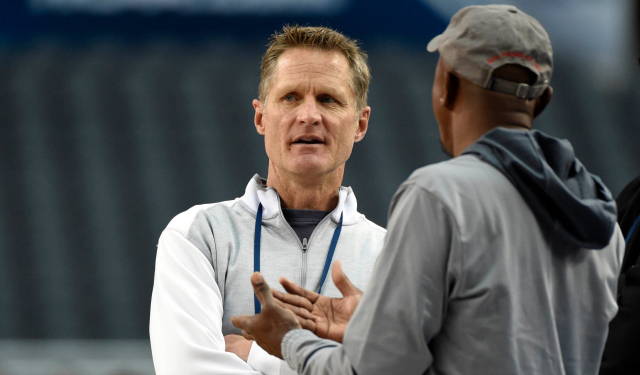 Kerr has a few options to mull. (USATSI)