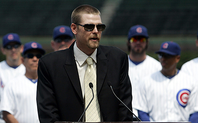 Kerry Wood had a frightening discovery Monday morning.