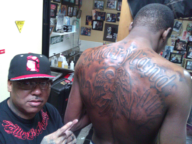 kevin durant back tattoo 2 Photos | Kevin Durant: Back Tattoos