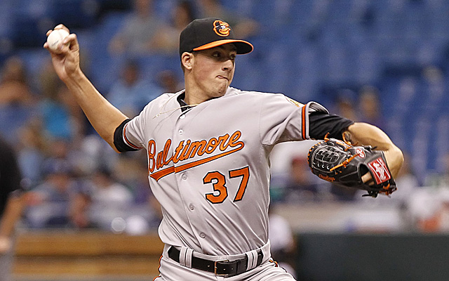 After five starts, Kevin Gausman is headed back to the minors.