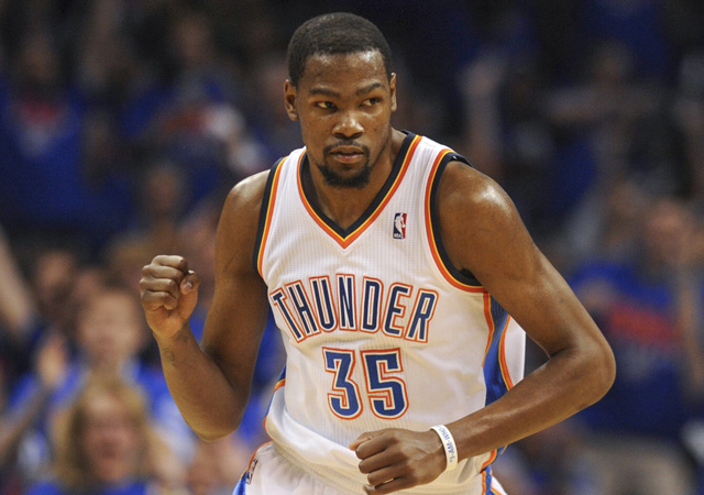 Durant was named the 2014 NBA MVP Tuesday.  (USATSI)