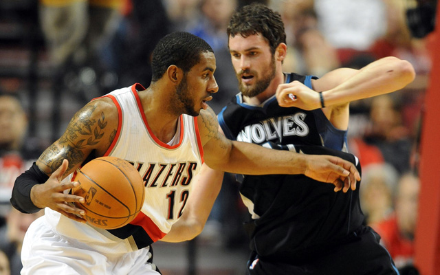 Kevin Love and LaMarcus Aldridge have been the best power forwards this season  (USATSI)