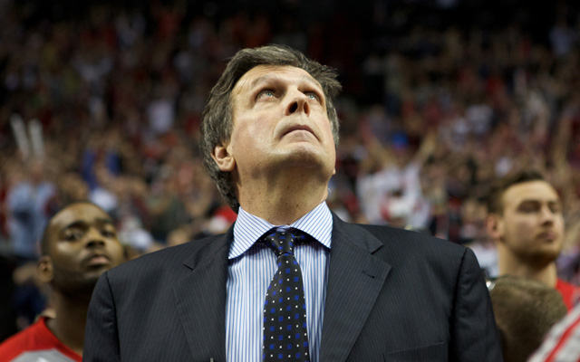 Kevin McHale doesn't sound terribly confident in his team's moves.