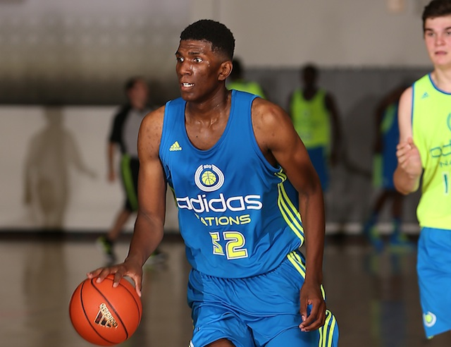 Top-10 prospect Kevon Looney trimmed his school list to six colleges last week. (Adidas)