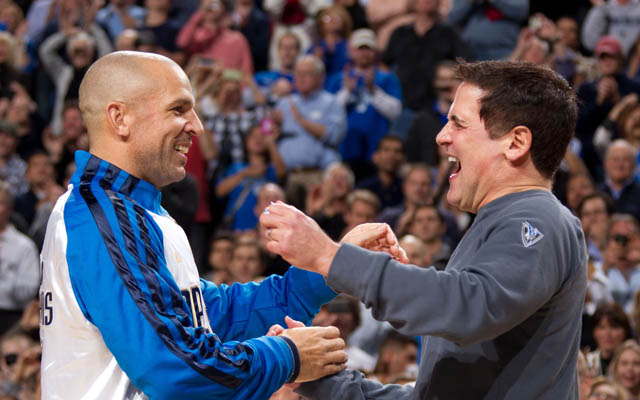 The feud between Jason Kidd and Mark Cuban is over. (Getty Images)