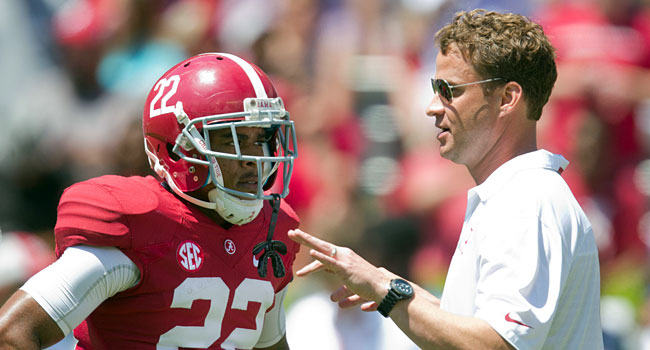 Lane Kiffin is ready to take on the role of offensive coordinator at Alabama. (USATSI)