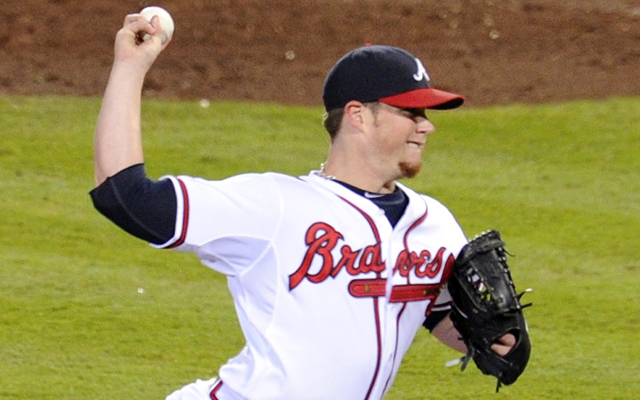 Braves closer Craig Kimbrel didn't pitch Monday night. He should've. (USATSI)