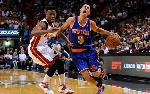 The Knicks are in trouble... but still alive.  (USATSI)