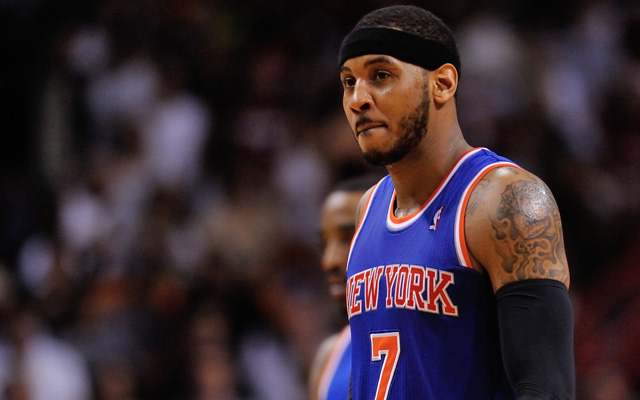 The Knicks were finally eliminated from playoff contention Saturday.  (USATSI)