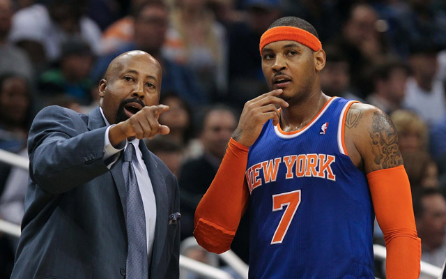 The Knicks have been told to look to the bright side.  (USATSI)