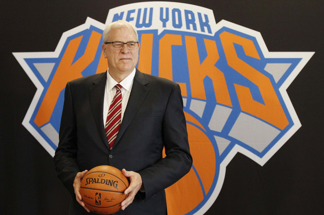 Phil Jackson says he won't coach the Knicks. (USATSI)