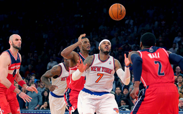 The Knicks watched their playoff hopes slip on Friday. (USATSI)