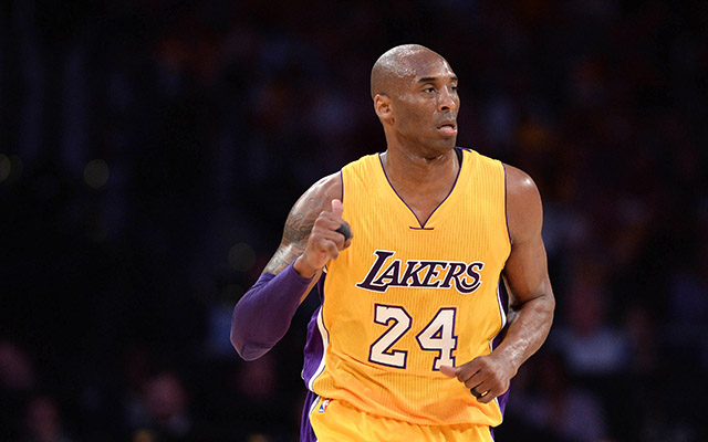 Lakers to display Kobe Bryant's uniform numbers on court during finale