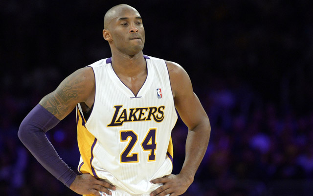 Kobe Bryant returned Sunday night.  (USATSI)