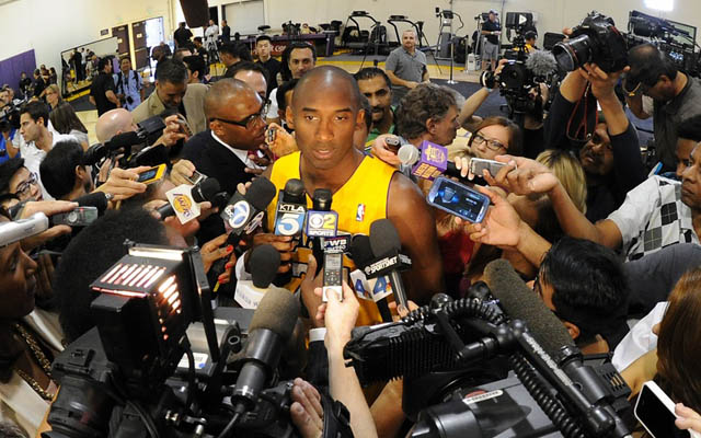 Kobe Bryant remains the center of the Lakers' universe. (USATSI)