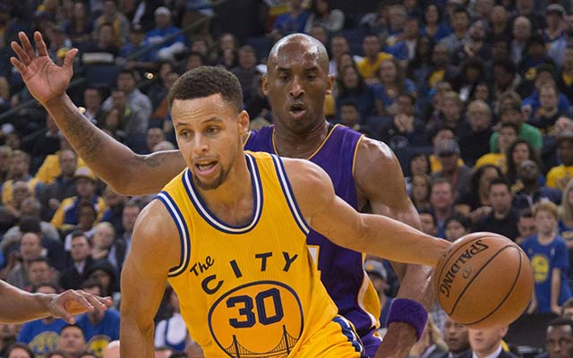 This about sums up Warriors-Lakers.  (USATSI)