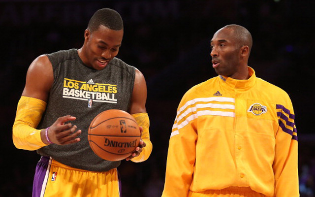Kobe Bryant and Dwight Howard couldn't co-exist long-term.     (USATSI)