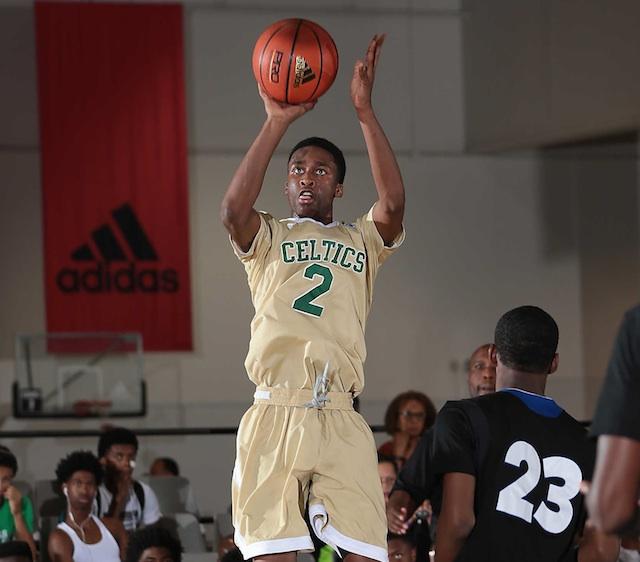 Kobi Simmons averaged 21.0 points at the prestigious Adidas Super 64. (Adidas)