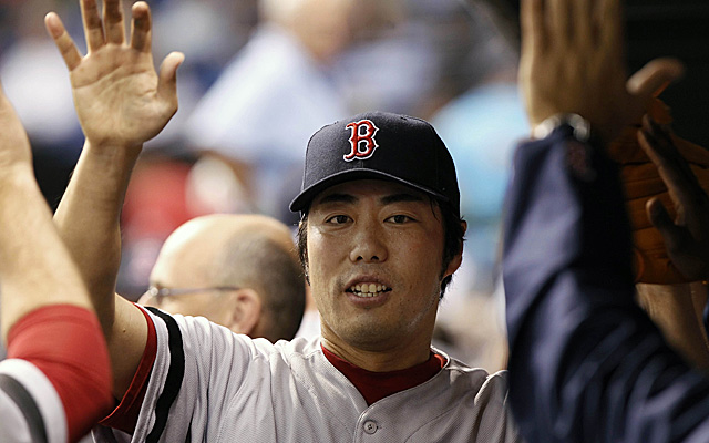 Koji Uehara takes over as Red Sox closer for the time being.