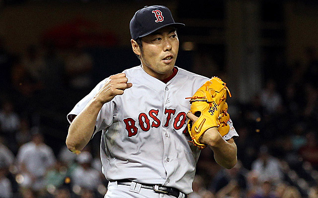 Koji Uehara is an All-Star for the first time in MLB.