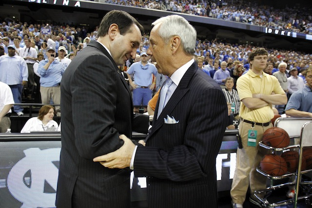 Mike Krzyzewski and Roy Williams will have more competition than usual within the league. (USATSI)