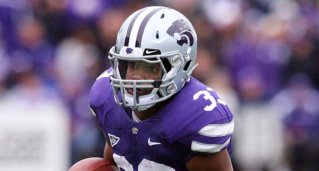 John Huburt is back and ready to become the workhorse of the Kansas State offense. (USATSI)