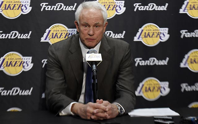 Lakers have explored trades, but no 'blockbuster' on horizon, GM says