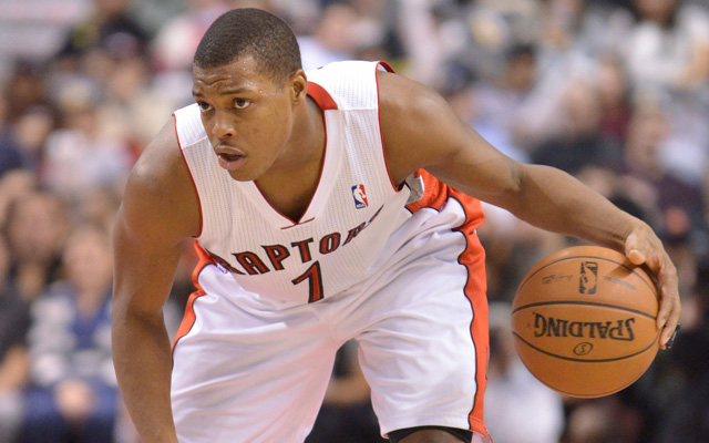 Kyle Lowry is a hot commodity on the trade market.  (USATSI)