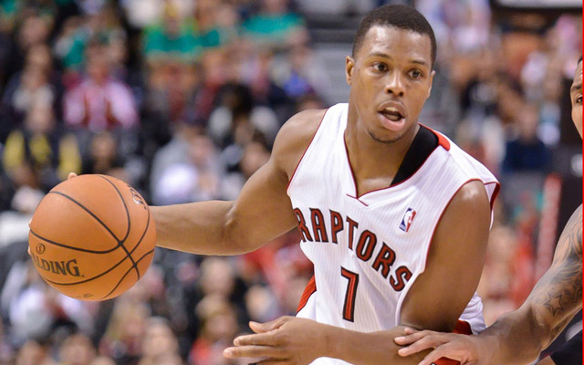 Kyle Lowry could be on the move next from Toronto.  (USATSI)