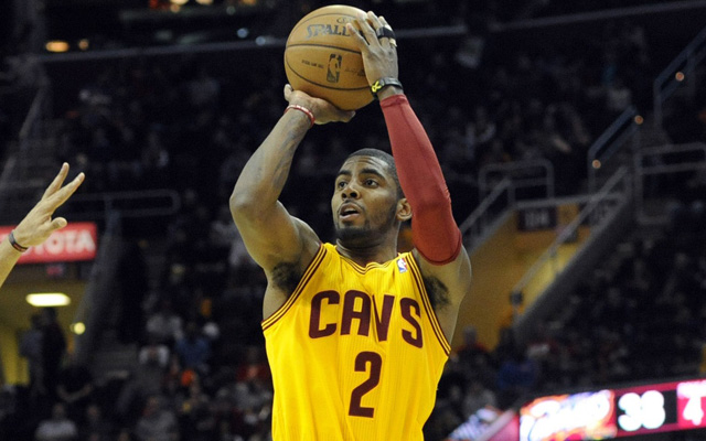 Kyrie Irving is prepared to launch at All-Star weekend. (USATSI)