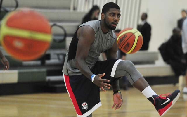 Kyrie Irving looks to learn leadership next year.  (USATSI)