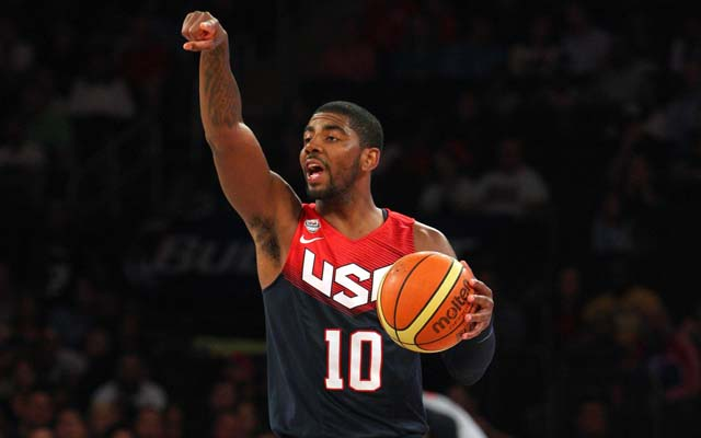Kyrie Irving makes the Team USA roster.  (USATSI)