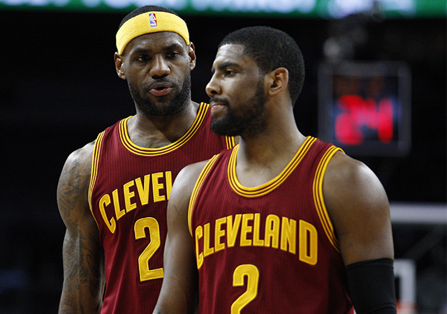 Kyrie Irving and LeBron James have had to work through some problems. (USATSI)