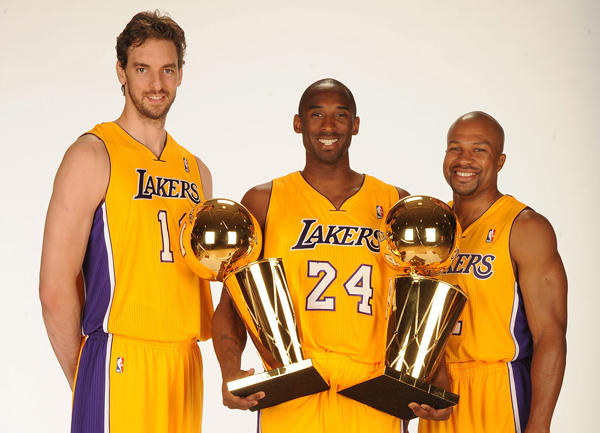 lakers-trophies