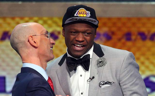 Julius Randle has to find a model that works in the NBA.  (USATSI)