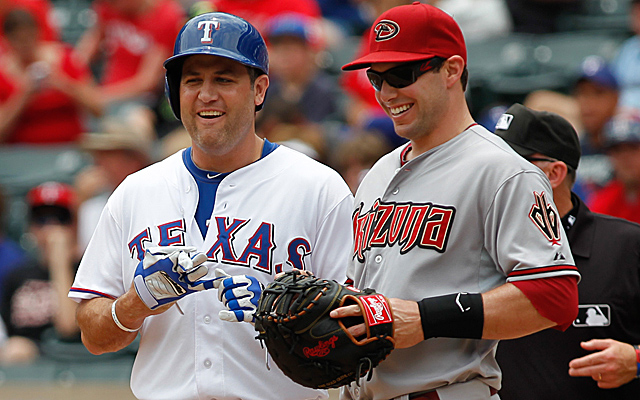 Lance Berkman's current injury is sort of a laughing matter.