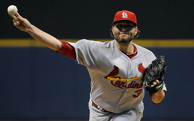 Lance Lynn will get the ball in Game 2 for St. Louis.