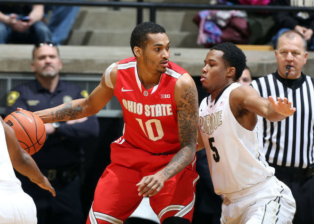 Ohio State defeated Purdue on Tuesday, but there's a showdown with Michigan State next week. (USATSI)