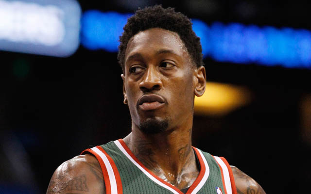 Larry Sanders is struggling with off-court issues.  (USATSI)
